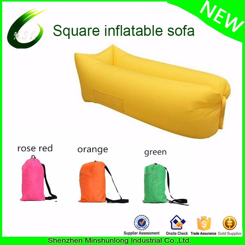 2017 Portable Inflatable Lounger Outdoor/Indoor Air Sofa Couch Waterproof Compression Sacks for Camping
