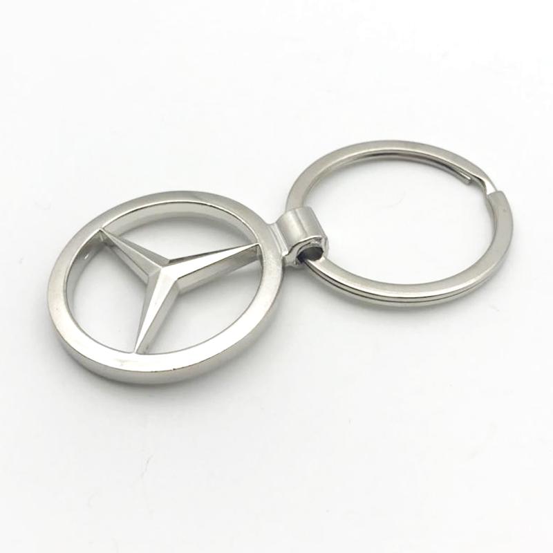 Decorativo personalizado de Metal de aleación de Zinc llave de coche cadena para venta