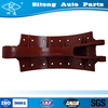 Top quality brake shoe used for truck spare brake parts