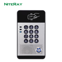 NiteRay unlock SIP intercom door phone IP door phone opener