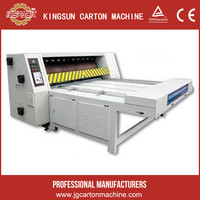 1600 model pizza corrugated carton box rotary die cutting making machine , food or some other packaging machine
