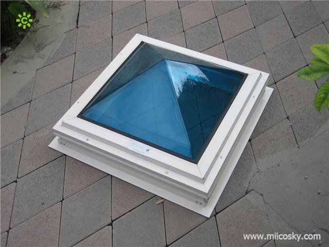 Acrylic Skylight Pyramid Dome Skylight Polycarbonate Dome
