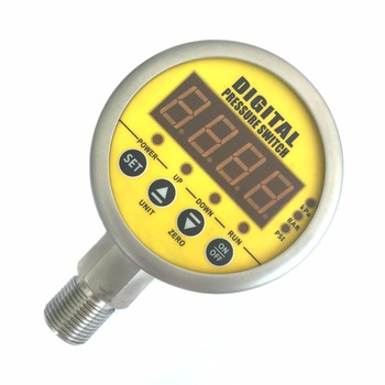 Digital pressure switch alarm adjustable electronic