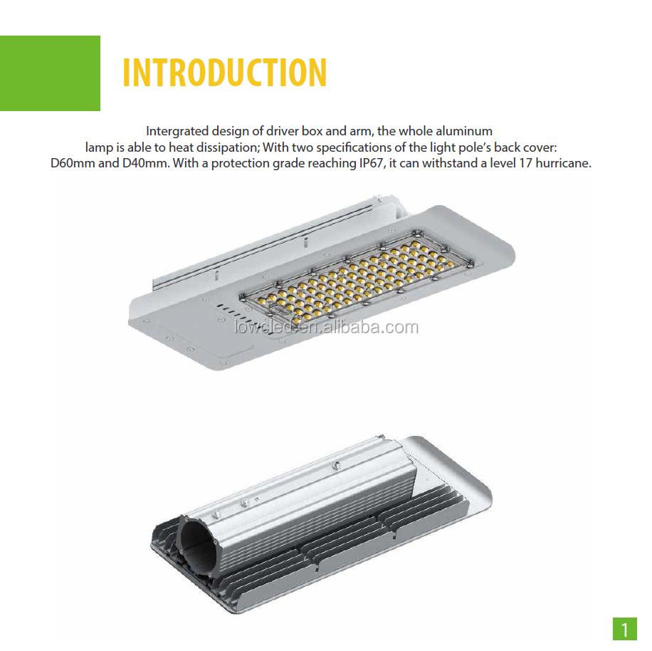 Philips Chipset Led Street Lighting 100w,Led Street Light Casing ...