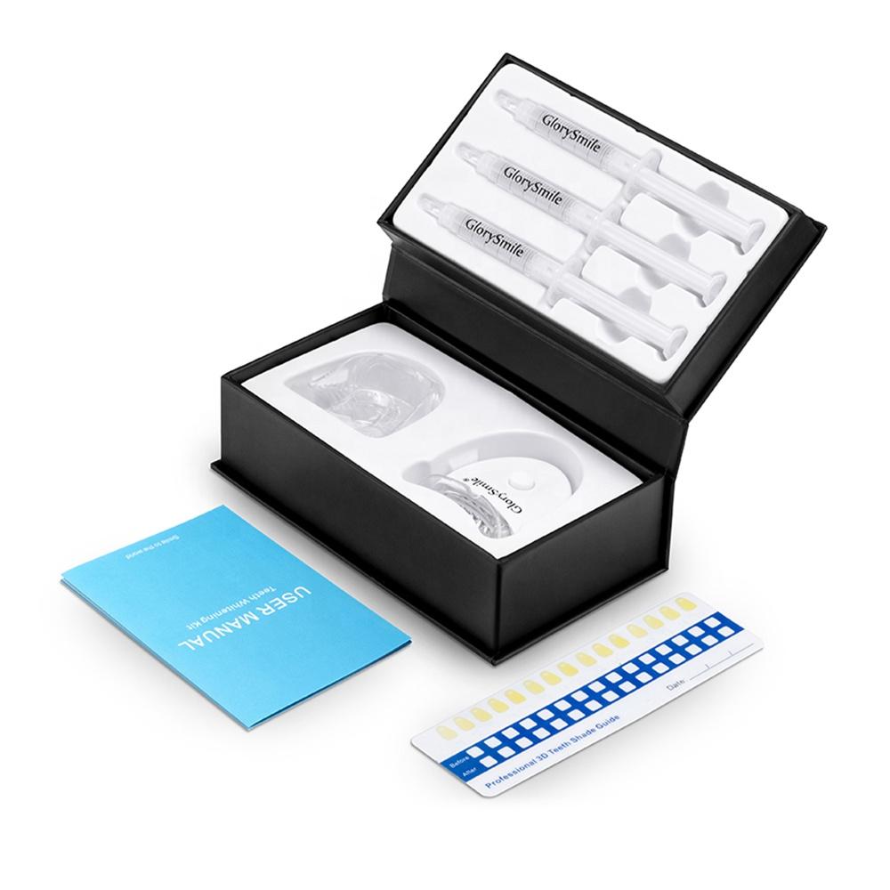 Popular 100% Natural Ingredient Private Logo Luxury Amazing Bleaching Dental Teeth Whitening Kit