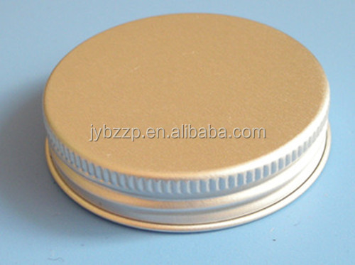aluminum bottle cap metal screw caps emboss logo metal cap