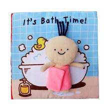 Развивающая Мягкая книга для детей, развивающая игрушка для детей 0-12 месяцев, опт(Китай)
