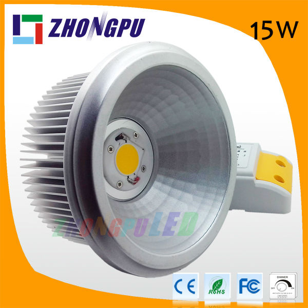 15w cree ar111 led lighting 220v dimmable led spotlight mr16 9w