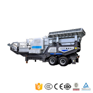 Top Tracked Mobile Impact Crushing Plant Cone Iron Ore Truck Mounted Portable Crusher