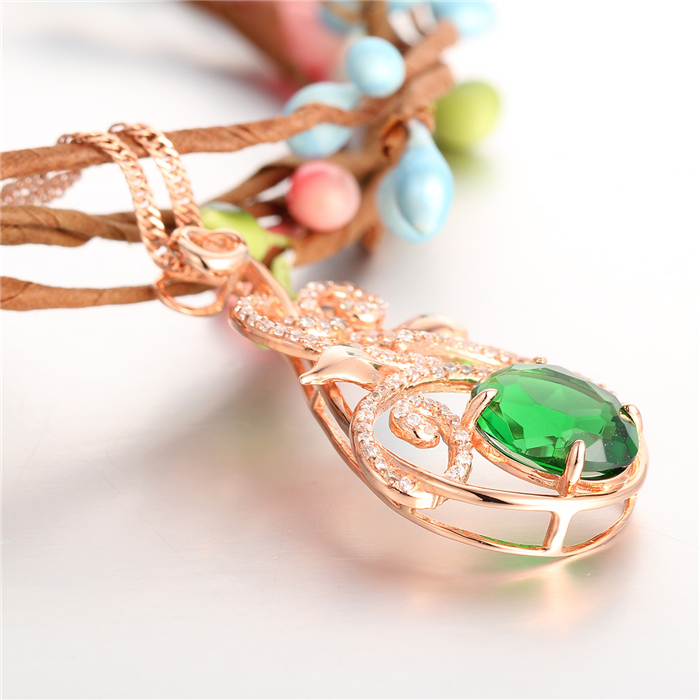 Saudi Gold Green Stone Different Types Of Pendant For Chains ...
