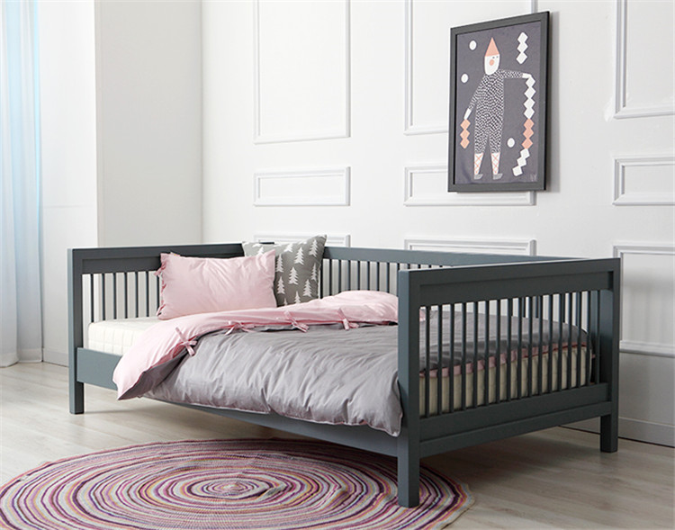 SK - A - C03 Toddler Bed Solid pine wood  kids furniture sofa bed with drawer