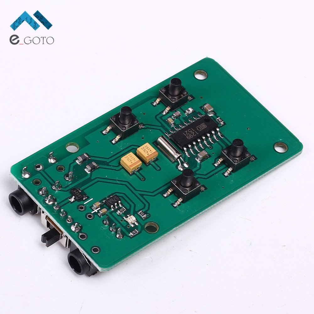 Cheap Module Modulation Fm Find Deals On Line Wireless Microphone Circuit Get Quotations Yutuvit 76 108mhz Transmitter Radio Frequency Pcb Key Control Board