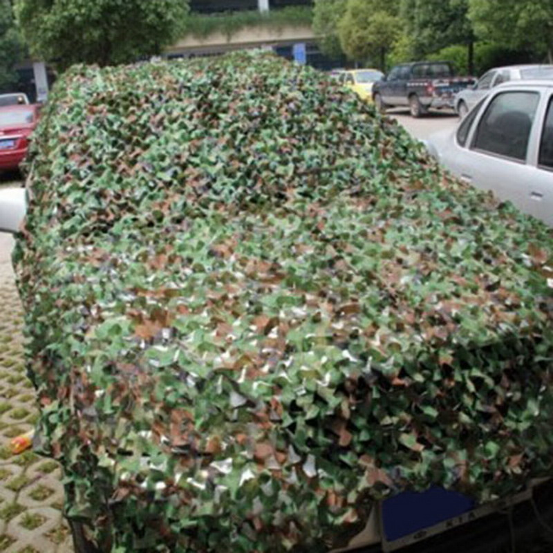 5m X 1 5m Outdoor Sun Shelter Net Camouflage Netting
