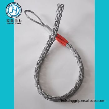 Hose Restraint Cable Pulling Socks Wire Grip - Buy Cable Grips,Cable ...