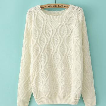 Ms50400w Women Knit Sweater,Cashmere Sweater Knitting Pattern,Hand ...