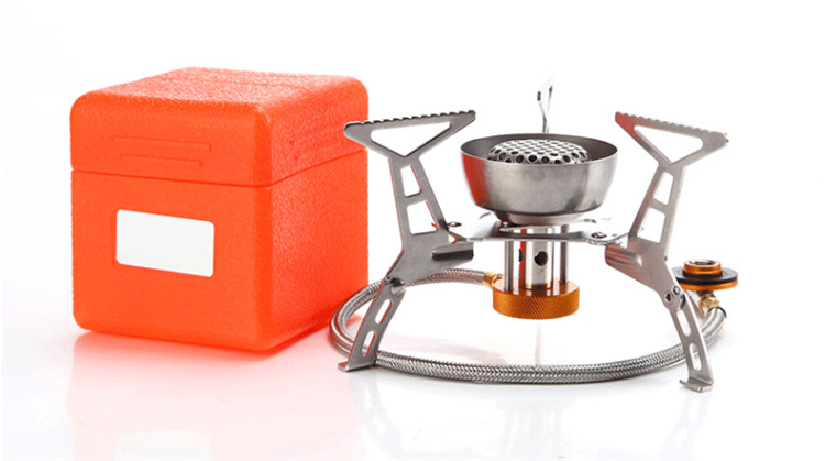 outdoor Wind proof gas stove camping