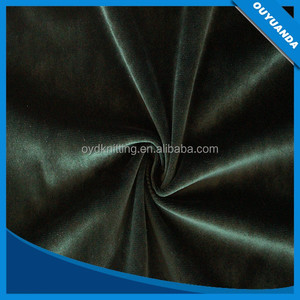 High Density Polyester Brushed Velvet Blackout Curtain Fabric