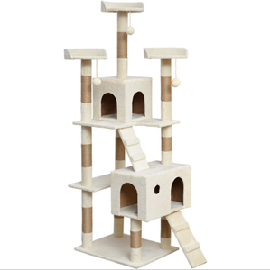 Popular Scratching Pet Furniture Climbing Tower Cat Tree House for Large Cat