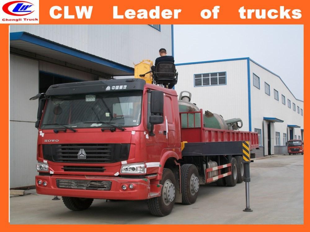 China Manufacturer Chain Block Mobile Crane Hydraulic Truck Cranes ...