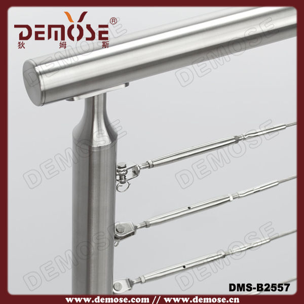 Railing Stainless Steel Cable Design For Balcony/staircase - Buy ...