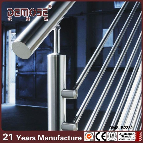 Modern Balcony Stainless Steel Staircase Railing Price India