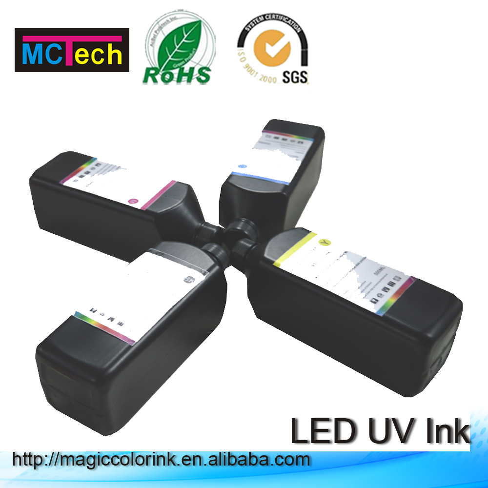 UV Flexo Ink LED UV Curable Ink Print On Hard Material