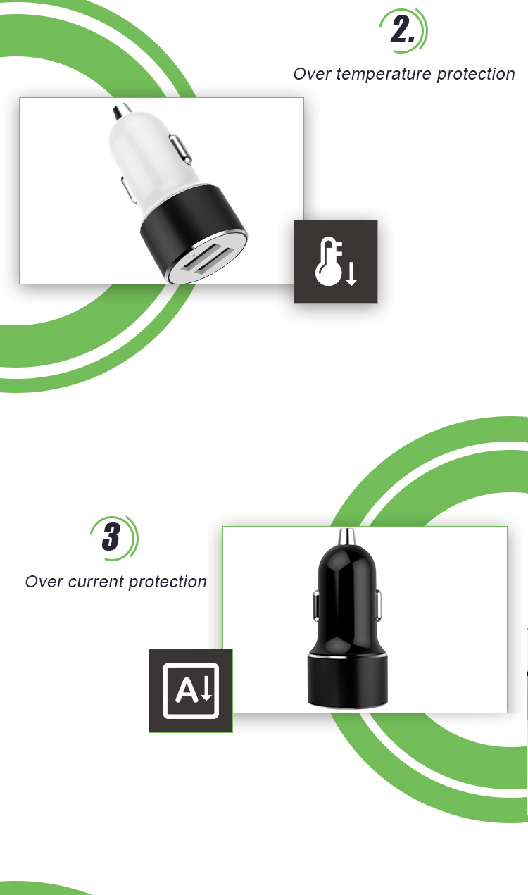 48a dual usb mini fast car charger adapter with rohs 48a dual usb mini fast car charger adapter with rohs certifications xflitez Choice Image