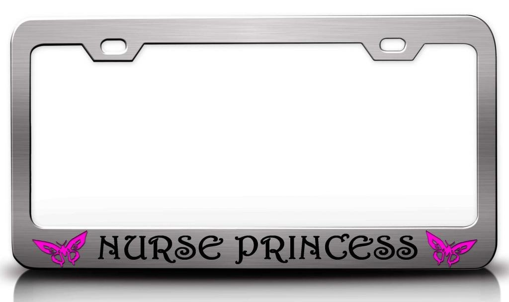 Beautiful Princess License Plate Frames Collection - Ideas de Marcos ...