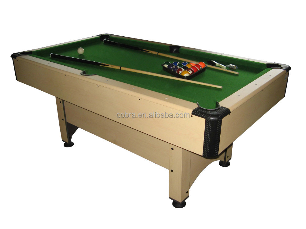 Cost-effective And Popular Selling Billiard Table Pool Table for discount sell include brush,chalk,cue,triangle,ball OEM offered