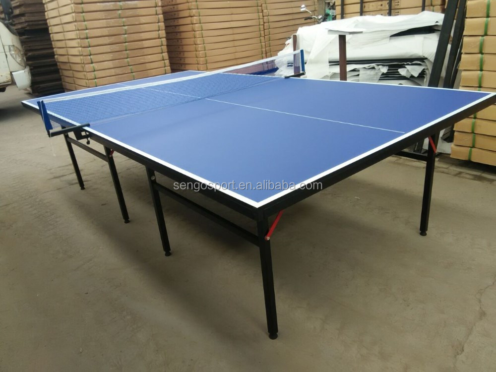 International standard ping pong table blue tennis table - What is the size of a ping pong table ...