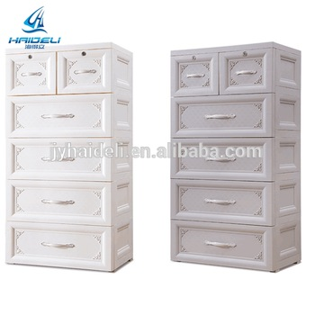 Storage Cabinet Plastic Baby Drawer