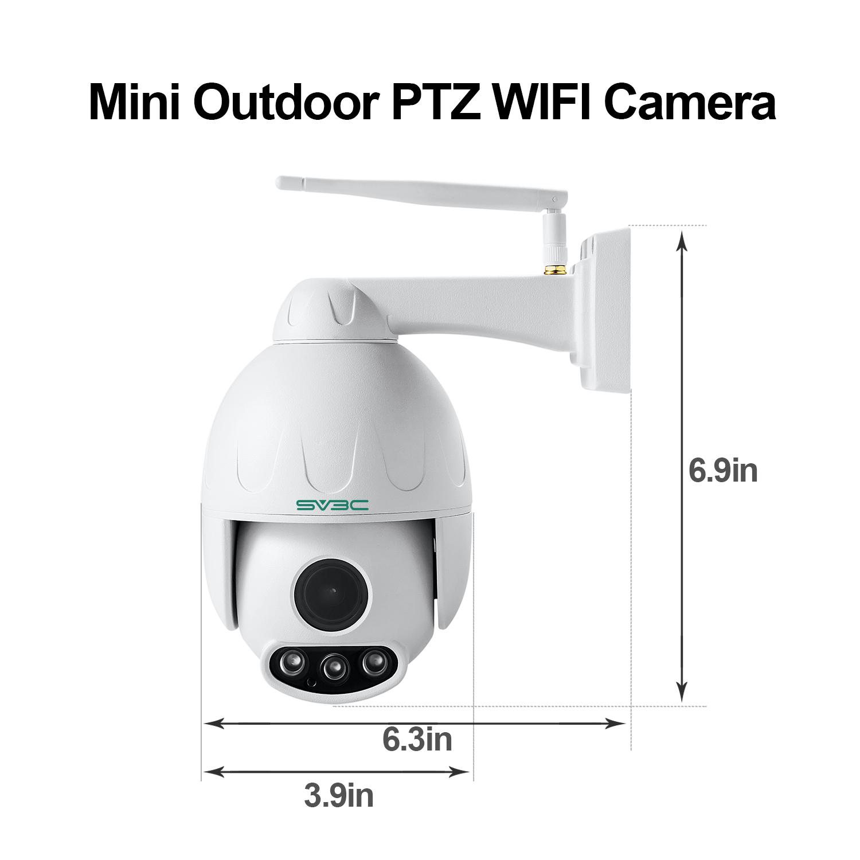 SV3C Full HD 1080P Wifi Wireless Security Camera Outdoor Aluminum Metal
