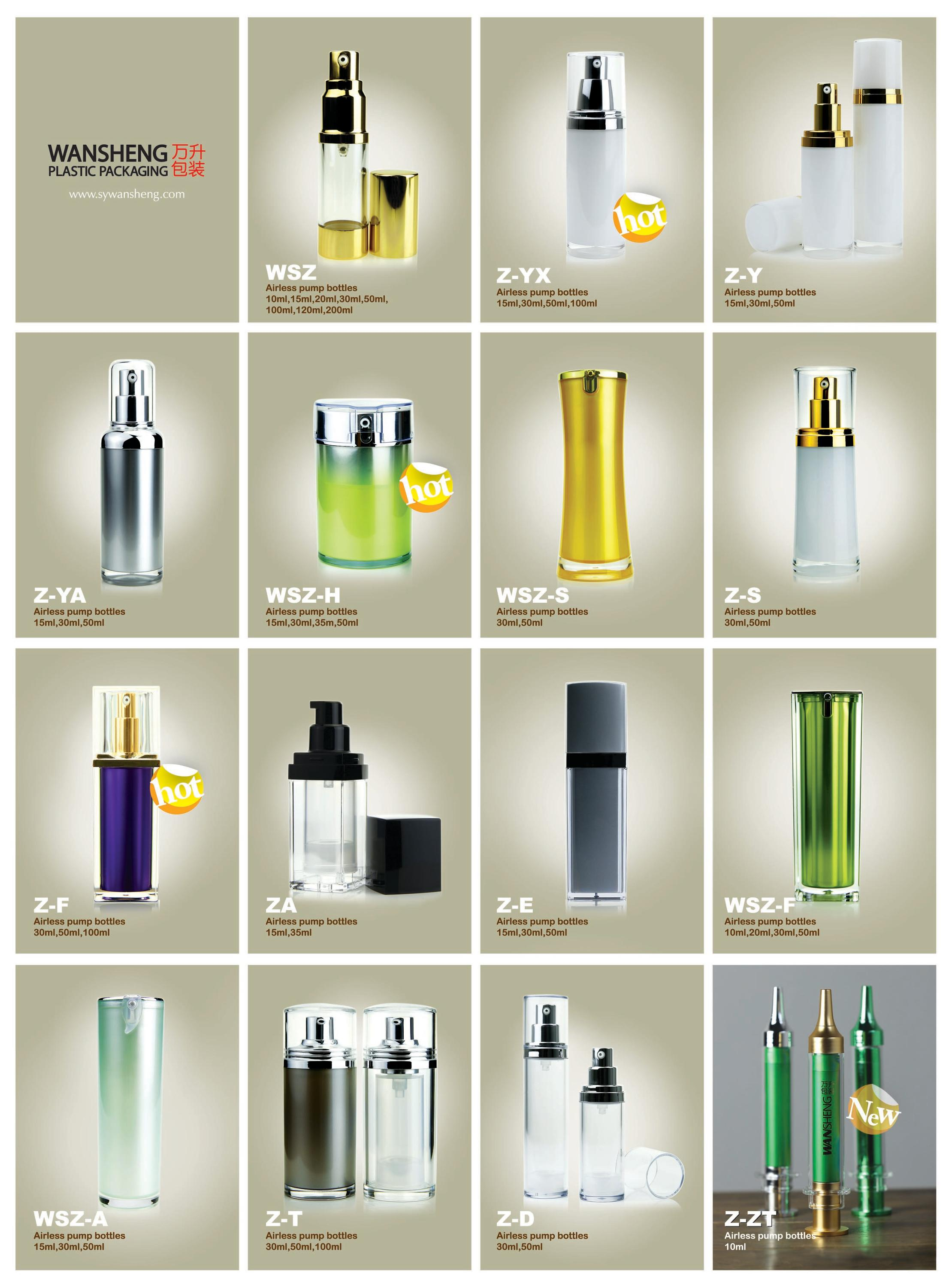15ml 30ml 50ml cosmetic spray bottles with pump , empty plastic bottles for liquid , cheap plastic spray bottles wholesale