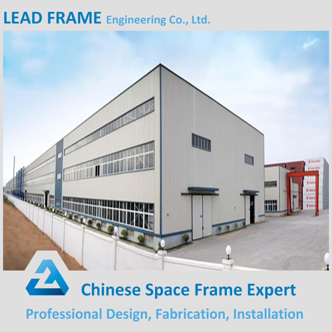 Prefabricated Space Frame Architectual Design Ready To Assemble Iron Ore Storage