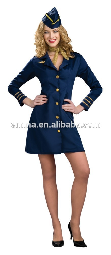 Sexy air hostess uniform
