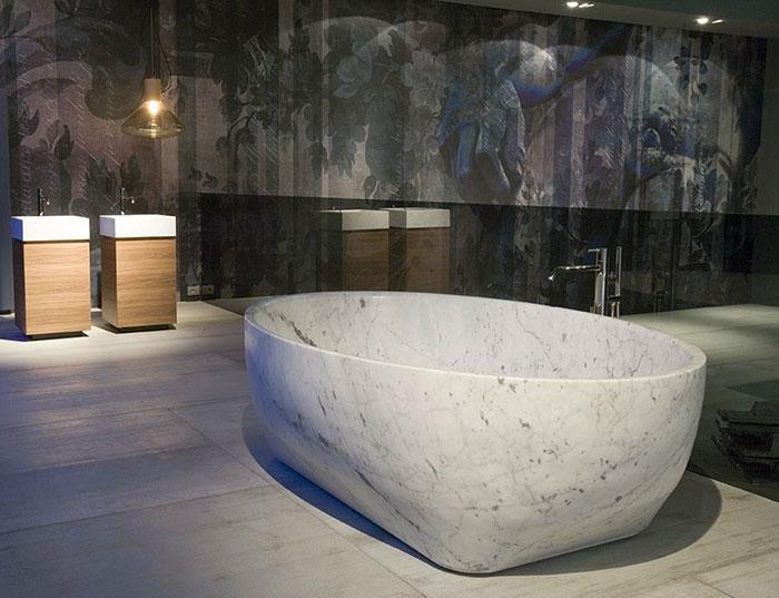 Vasca Da Bagno Marmo Prezzi : Prezzo poco costoso su autoportante vasca da bagno in pietra