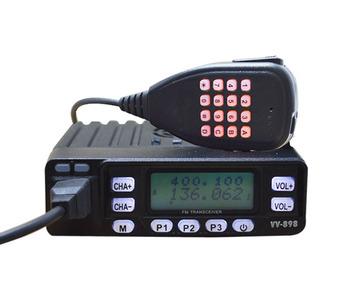 10w Vhf Uhf Dual Band Mini Mobile Ham Radio Mobile Amateur Radio