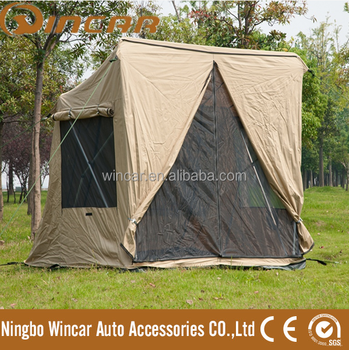 Canvas 30 Second pop upTent (WIN200) /Quick set-up c&ing Tent outdoor & Canvas 30 Second pop upTent (WIN200) /Quick set-up camping Tent ...