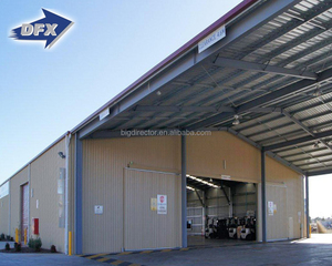 High Quality Industrial Steel Construction Warehouse Building Prefabricated Sheds For Sales
