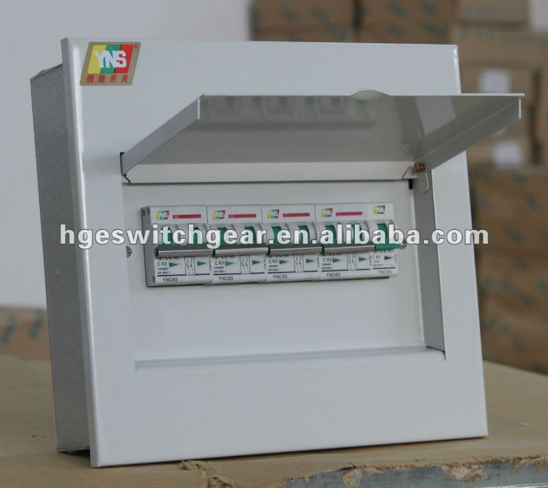 4-38way Electrical Metal Circuit Breaker Box