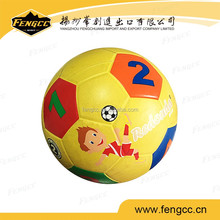 2016 new design promotional gift toy football team kids basketball