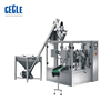 High Speed Doypack Dry Custard Powder Packaging machine , Screw Weighing Jaggery Powder Premade Bag filling and sealing machine