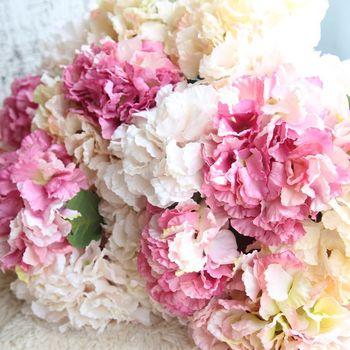 Hot Sale Handmade Real Touch Artificial Flowers Silk Hydrangea Buy
