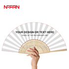 Hand Fan Hand Fan Custom Printed Bamboo Folding Hand Fan For Promotion Or Event