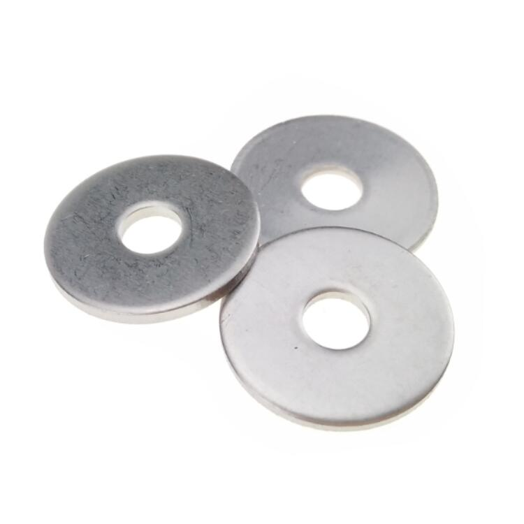 Stainless Steel Thin Flat Shim Washers for Motor Custom Fasteners 0.8 mm