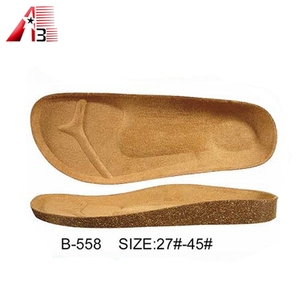 Cork mid sole for sandal