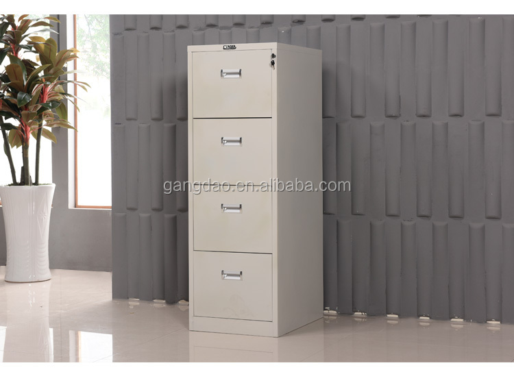 Factory sale 4 drawer vertical file storage cabinet