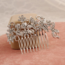 Tastefully silver jewellery hair accessories wholesale china wedding guests gifts