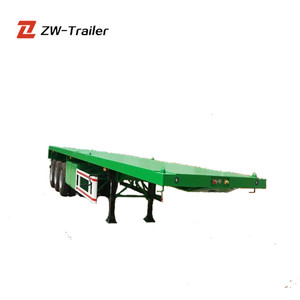 Hot Selling New and Used Container Transport Trailer Chassis