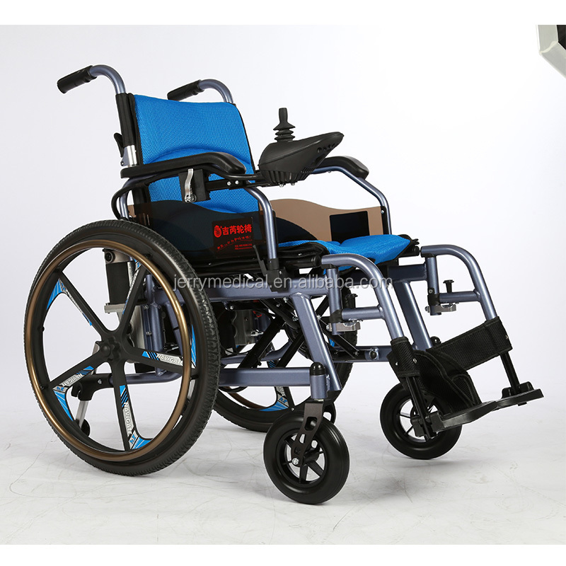 Unique design aluminum alloy power electric wheelchair